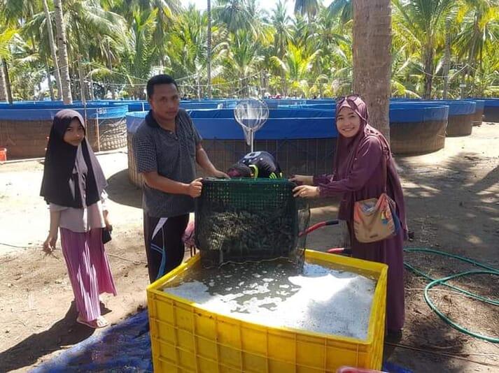 Central Proteina Prima (CPP) bekerja sama dengan petani yang memiliki sumber daya terbatas, seperti modal dan lahan, dan saat ini lebih menyukai desain kolam melingkar.