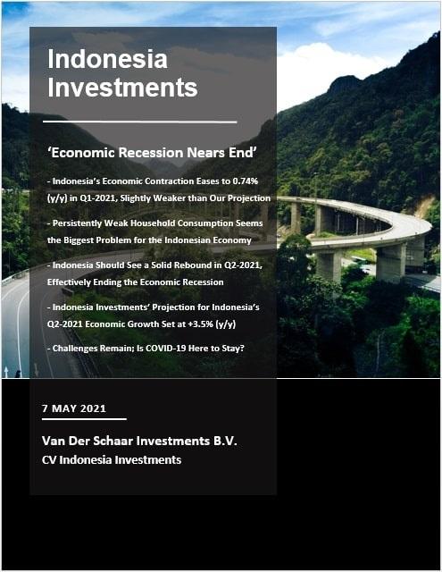 Pembaruan PDB Indonesia untuk Q1 2021: Aktivitas ekonomi tetap rendah tetapi resesi sudah dekat