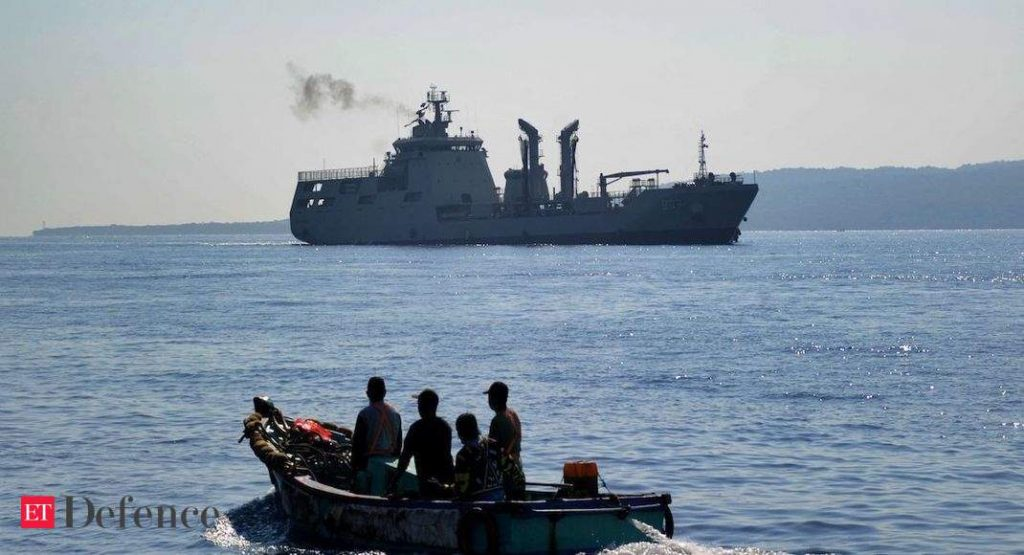 Angkatan Laut China membantu Indonesia menyelamatkan kapal selam yang tenggelam