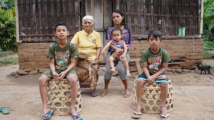 Some Balinese families income's are a third of what they were prior to the pandemic.