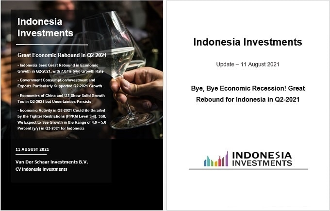 Selamat tinggal, selamat tinggal resesi ekonomi!  Pemulihan besar untuk Indonesia pada kuartal kedua tahun 2021