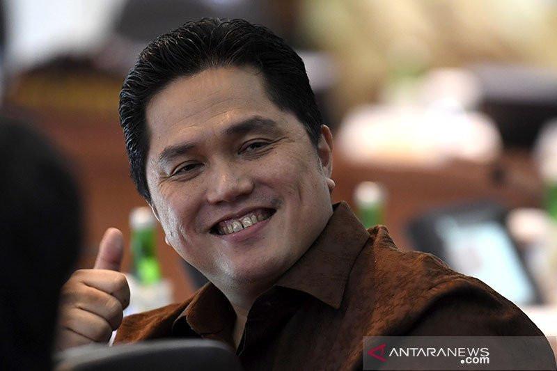 Menteri Badan Usaha Milik Negara: Pemulihan ekonomi Indonesia berjalan ke arah yang benar