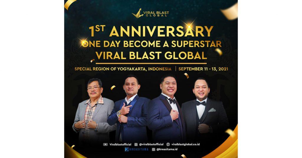 HUT ke-1, Viral Blast Global dukung pertumbuhan ekonomi kreatif dan pariwisata Indonesia