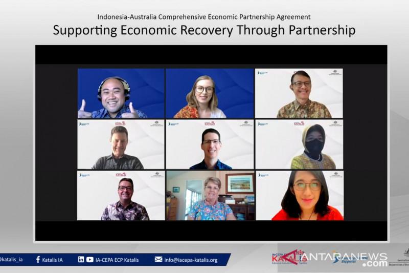 Indonesia, Australia perkuat kerjasama untuk pemulihan ekonomi