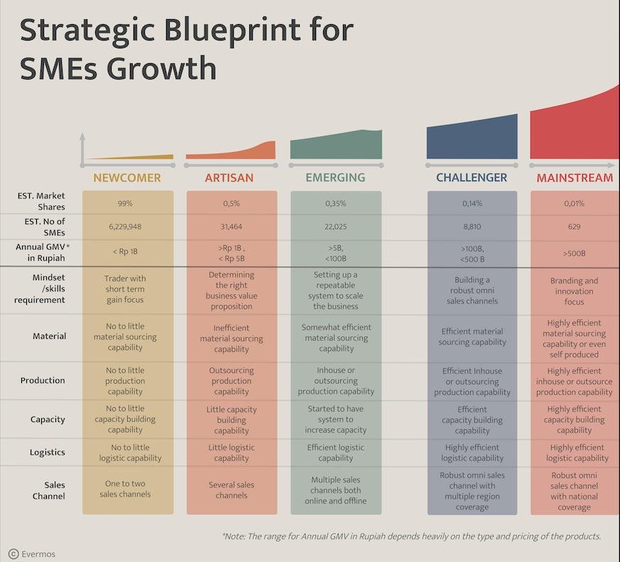 Strategic blueprint for SMEs growth