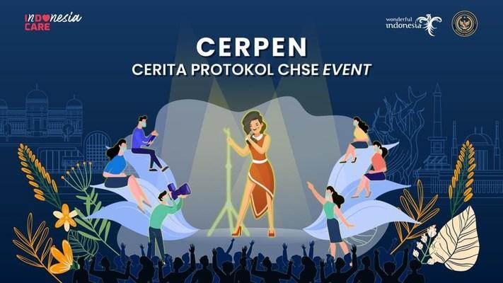 Dengan menyosialisasikan kisah CHSE Event Protocol (CERPEN), Kementerian Perdagangan dan Lingkungan Indonesia bertujuan untuk menghidupkan kembali bisnis event di Indonesia.